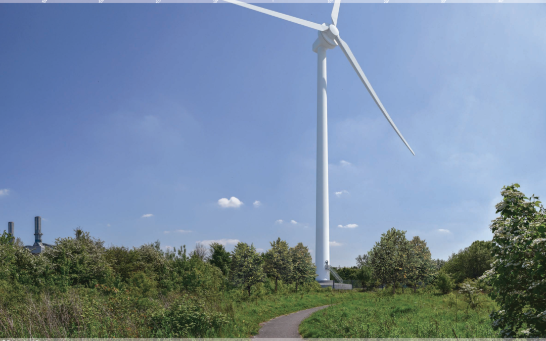 Proposed wind turbine, Avonmouth